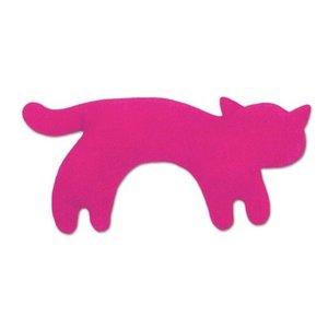 Wärmekissen, Die Katze Minina, klein. Fellfarbe: Flamingo / Mitt