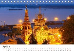 Goldenes Russland (Tischkalender 2017 DIN A5 quer)