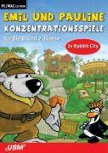 Emil und Pauline in Rabbit City - Konzentrationsspiele für die 1