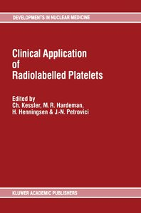 Clinical Application of Radiolabelled Platelets