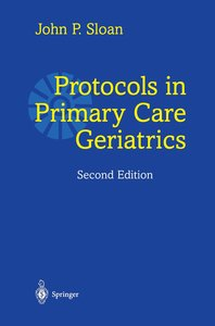Protocols in Primary Care Geriatrics
