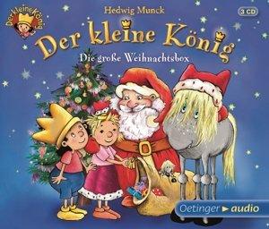 Der kleine König - Die große Weihnachtsbox (3 CD)