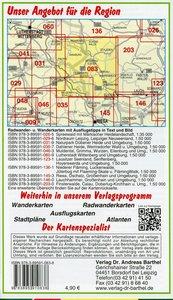 Torgau und Umgebung 1 : 50 000. Wander- und Radwanderkarte