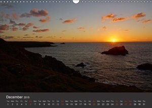 Sights and Views in Cornwall (Wall Calendar 2015 DIN A3 Landscap