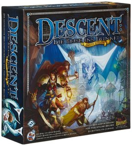 Heidelberger Spieleverlag HEI0600 - Descent 2. Edition: Reise in