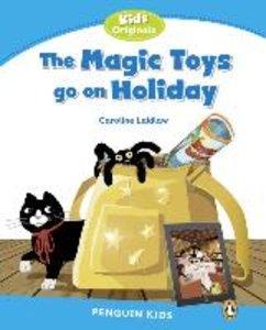 Penguin Kids 1 Magic Toys on Holiday Reader