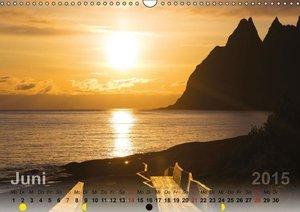 Wittich, R: Licht über Norwegen 2015 (Wandkalender 2015 DIN