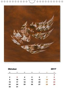 Ästhetisches Chaos - Traumweben (Wandkalender 2017 DIN A4 hoch)