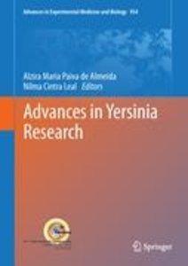 Advances in Yersinia Research