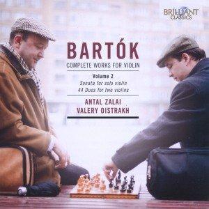 Bartok: Sämtliche Werke für Violine