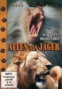 Affen Als Jäger-Auch Affen Fressen Löwen