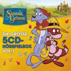 Simsalagrimm-Die Große 5-CD Hörspielbox Vol.1
