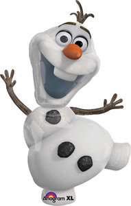 Disney FROZEN - Die Eiskönigin Folienballon in Olaf Form