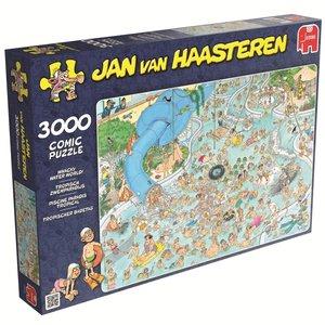 Jan van Haasteren - Tropischer Badetag - 3000 Teile Puzzle