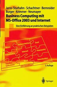 Business Computing mit MS-Office 2003 und Internet