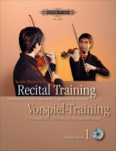 Recital Training Vol. 1 with 2 CDs / Vorspieltraining Band 2 mit