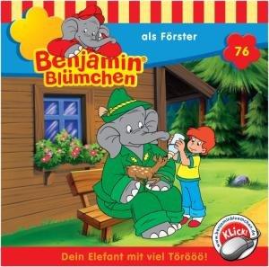 Benjamin Blümchen 076 als Förster. CD