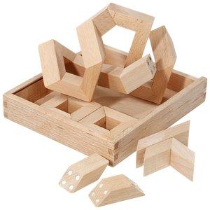 Philos 5550 - Math Maker, 30 magnetische Holz-Puzzleteile