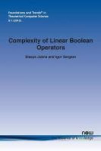 Complexity of Linear Boolean Operators