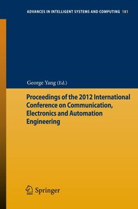 Proceedings of the 2012 International Conference on Communicatio