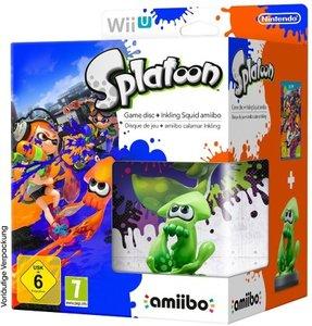 WiiU Splatoon Special Edition + amiibo
