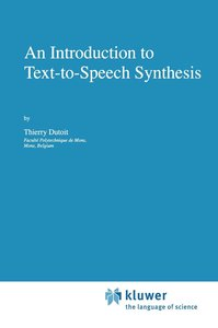 An Introduction to Text-to-Speech Synthesis