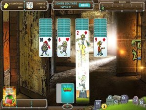 GaMons: Zombie Solitaire