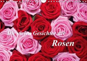 Kruse, G: Die vielen Gesichter der Rosen (Wandkalender 2015