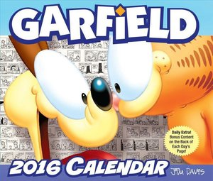 Garfield 2016 Day-To-Day Calendar