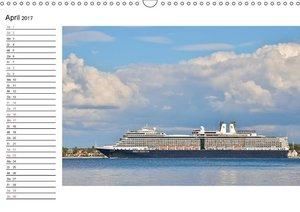Blaues Band - Kreuzfahrtschiffe