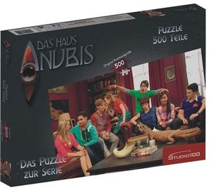 Jumbo Spiele 13081 - Haus Anubis, 500 Teile Puzzle