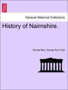 History of Nairnshire.