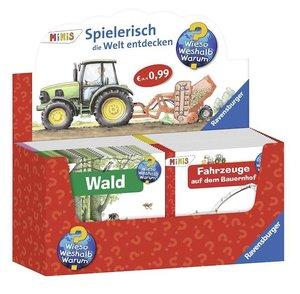 "Verkaufs-Kassette \""Ravensburger Minis 100 - Wieso? Weshalb? War"