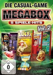 Die Casual-Game MegaBox Vol. 2 - 5 Spiele-Hits