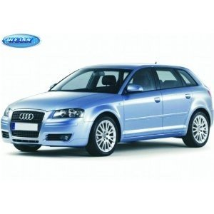 Cars & Co. 327 6746 - Welly: Audi A3, Sportback 05er, 1:24, silb