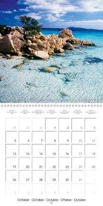Rediscovering Sardinia (Wall Calendar 2015 300 × 300 mm Square)