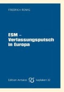 ESM - Verfassungsputsch in Europa