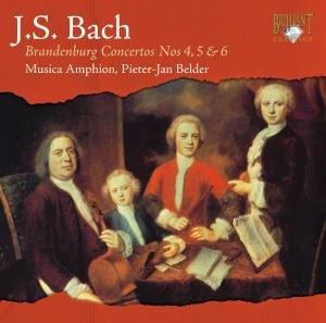 Brandenburgische Konzerte 4-5-6