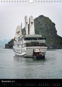 Ha Long Bay, Kreuzfahrt in Vietnam (Wandkalender 2017 DIN A4 hoc