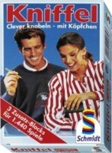 Kniffelblöcke: 3 Zusatz-Blocks für Kniffel