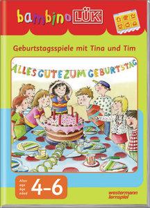 Bambino. Geburtstagsspiele mit Tina und Tim