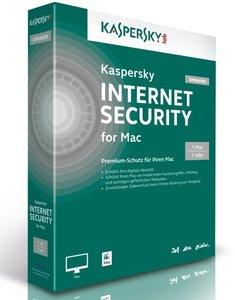 Kaspersky Internet Security 2014 - 1 Mac/1 Jahr