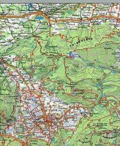 Chiemgauer Alpen. Berchtesgadener Land 1 : 50 000. Fritsch Wande