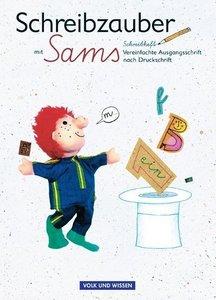 Lesezauber. Schreibzauber mit Sams. Vereinfachte Ausgangsschrift