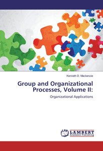 Group and Organizational Processes, Volume II: