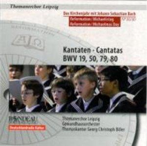 Kantaten BWV 19,50,79+80