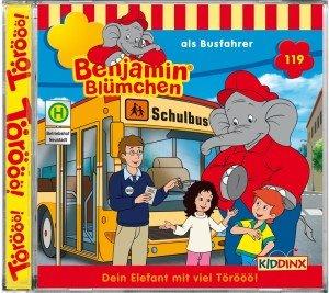 Benjamin Blümchen 119 als Busfahrer