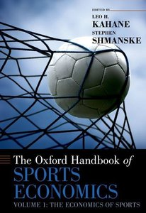 Kahane, L: Oxford Hdb. Sports Economics Vol. 1: