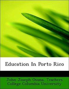 Education In Porto Rico