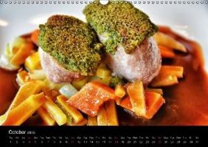 Delicious - Gourmet Food Calendar 2015 / UK-Version (Wall Calend